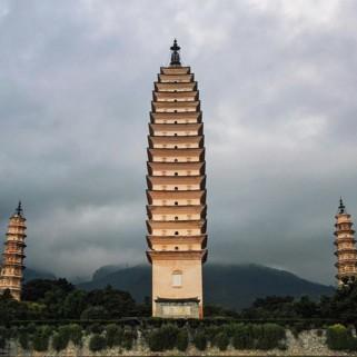 Jour 38 : Temple des 3 pagodes et balade en vélo autour du lac de Dali 🚴🏯🇨🇳