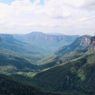 Jour 169 : Blue Mountains : Govetts Leap et la Grose Valley 🏞💙