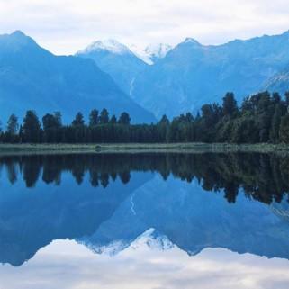 Jour 190 : Le glacier Fox, le lac Matheson, le glacier Franz Joseph et les gorges Hokitika 🗻❤️🇳🇿