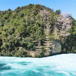 Jour 201 : Taupo, Huka Falls, Aratiatia Rapids 🌊🌲