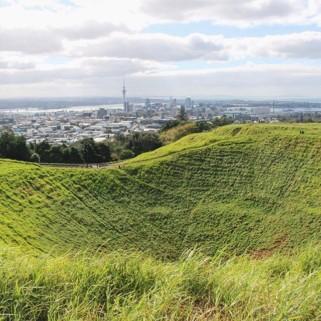 Jour 215 : Auckland, le CBD et le Mont Eden (Hazard de son petit nom) 🇳🇿