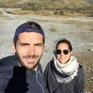 Jour 216 : Bye bye la Nouvelle-Zélande et salut l'Océanie 💙 (ce gif se nomme «l'évolution de la pilosité en 40 jours ou comment finir avec une barbe non homologuée par la police des bebars» !)