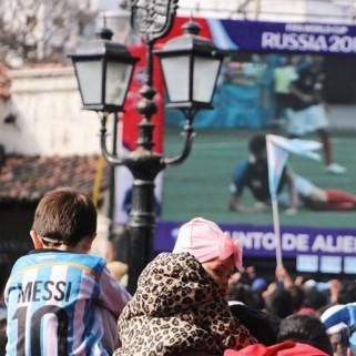 Jour 287 : Le match France-Argentine en Argentine, c'était à faire ! 🇦🇷🇫🇷⚽️ (et aussi le cerro San Bernardo)